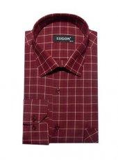 Lugon 0287 Uzun Kol Klasik Erkek Gömlek