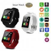 U8x Plus Smart Wathc Akıllı Saat Bluetooth Sd Kart Hafıza Kart De