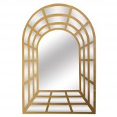 Vitale Metal Mat Sarı Pencere Ayna