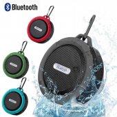 C6 Su Geçirmez Kablosuz Taşınabilir Bluetooth Hoparlör Ses Bombas