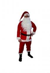 Noel Baba Yetişkin Kostümü Kırmızı