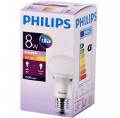 Philips Essential 8w Led Ampul 6500k (6 Adet)