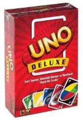 Uno Deluxe Kartlar Türkçe Delüks Kart Oyunu Lisanslı Ürün