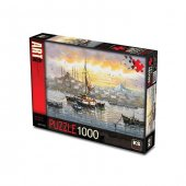 Ks Games 1000 Parça Puzzle Boğazda Gün Batımı