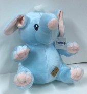 30cm Sevimli Mavi Fil Peluş Oyuncak,kaliteli Sağlıklı, Peluşcu Ba