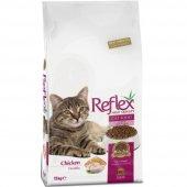 Reflex 1 Yaş Üstü Tavuklu Kedi Maması 15 Kg