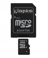 Kıngston 32gb Microsdhc Class 4 Flash Card