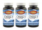 Carlson Omega3 Balık Yağı 1000mg 50 Kapsül 3 Adet