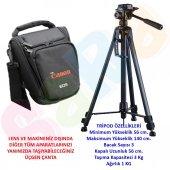 Canon 140cm Tripod Tripot + Dslr Omuz Çanta 1300d ...
