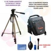 Canon 700d 157cm Tripod + Üçgen Çanta + Temizlik S...