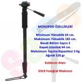 Deyatech 185cm 1006 Monopod Monopot Canon,nikon,pe...