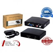 Vga Ve R L Ses Hdmı Video Dönüştürücü Adaptör