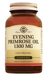 Sol Gar Evening Primrose Oil 1300mg 30 Softgel Skt 05 2021