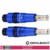 Oehlbach 3006 Banana B96 6mm Mavi Banana Jak 4lü