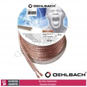 Oehlbach 101 2 X 1,5mm 10mt Oksijensiz Bakır Hoparlör Kablosu