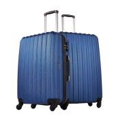 Ground 2li Valiz Büyük Ve Orta Boy Kırılmaz Bavul Lacivert 10522