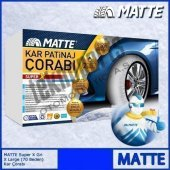 Matte Super X Series Kar 215 75 R16 Patinaj Çorabı Xx Large