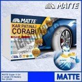 Matte Super X Series Kar 255 65 R16 Patinaj Çorabı Xx Large