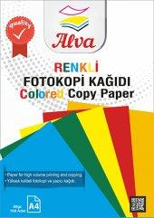 Renkli Fotokopi Kağıdı 100&#039 Lü