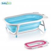 Babyjem Katlanabilen Banyo Küveti Mavı
