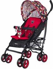 Massimo Ricco P103 Aletta Baston Bebek Arabası Kırmızı