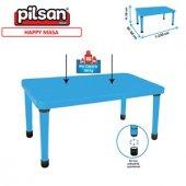 Pilsan Happy 60*120 Plastik Ayarlanabilir Masa Mavi