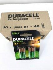 Duracell Şarj Edilebilir Pil 4 Lü Aaa 750 Mah 10 Adet