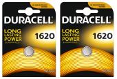 Duracell Düğme Pil 1620 Tekli (2 Kart 2 Paket)