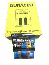 Duracell Turbo Max Aa Kalem Pil 2li 20 Paket 40 Adet