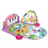 Babycim Piyanolu Müzikli Oyun Halısı Pembe Renkli Kız Modeli
