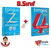 8.sınıf Tonguç Zoru Bankası Deneme Seti Tonguç Akademi Yayınları