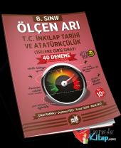 8.sınıf Ölçen Arı Lgs T.c. İnkılap Tarihi Ve Atatürkçülük 40 Deneme Arı Yayınları