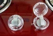 Agubugu Baby Ocak Fırın Gaz Düğmesi Güvenlik Kapağı 2 Li