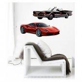 Dream Cars 3 Dev Duvar Sticker