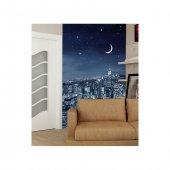 Night City 89x140 Cm Duvar Resmi