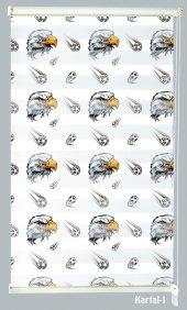 Mrs.pillow Kartal 1 Desenli Zebra Perde 60x200 Cm Ebadında