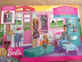 Barbie Portatif Ev Fxg54