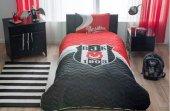 Taç Lisanslı Beşiktaş Logo Yatak Örtüsü Seti