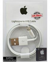 Apple İphone 5 5s Orjinal Şarj Ve Data Kablosu Lightning Mb352