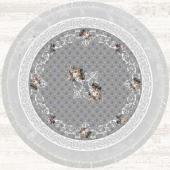 Brillant Latex Halı İnci Yuvarlak 150x150 Hld11329.801 (Püsküllü)