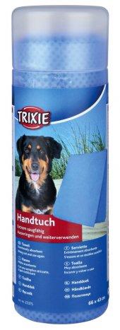 Trixie Köpek Ve Kedi Havlusu 66x43cm Mavi