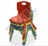 4lü Çocuk Sandalyesi Kreş Ve Anaokulu Sandalyesi
