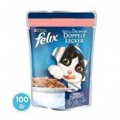 Felix Somonlu Sardalyalı Kedi Maması 100 Gr