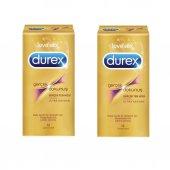 Durex Prezervatif Gerçek Dokunuş Ultra Kaygan 2 Paket