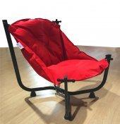 Pufumo Armut Bahçe Sandalyesi Kırmızı