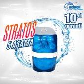 5 Aşamalı Pompasız Su Arıtma Cihazı Mavi Stratos