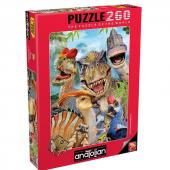 Anatolian Dino Selfie 260 Parça Puzzle (3317)