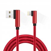 Dudao Dt 567 Zınc Alloy Hızlı Şarj Kablosu + Data 1 Metre İphone