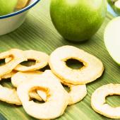 Kurutulmuş Elma Atıştırmalık Kuru Meyve