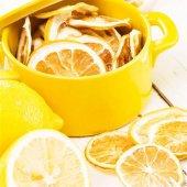 Kurutulmuş Limon Atıştırmalık Kuru Meyve
